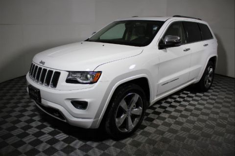 Pre-Owned 2015 Jeep Grand Cherokee Overland RWD SUV