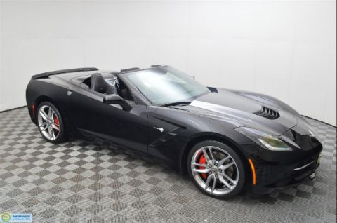 Pre-Owned 2014 Chevrolet Corvette Stingray Z51 RWD Convertible