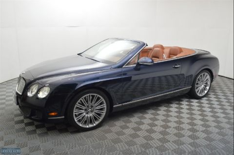 Pre-Owned 2010 Bentley Continental GTC Speed AWD