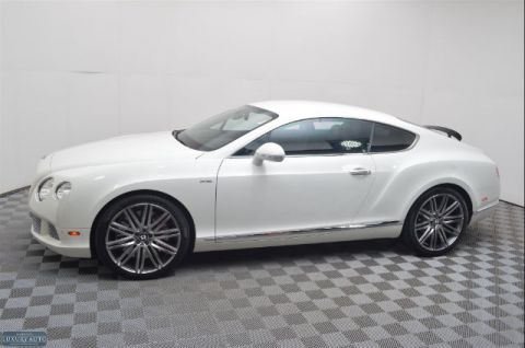 Pre-Owned 2013 Bentley Continental GT Speed AWD