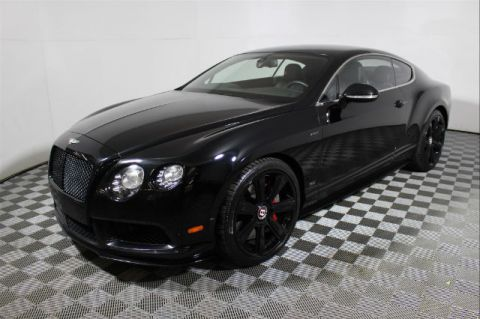 Pre-Owned 2015 Bentley Continental GT 2DR CPE V8 S AWD