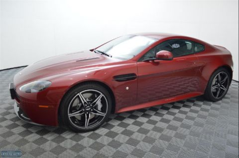 New 2016 Aston Martin V8 Vantage S Coupe With Navigation