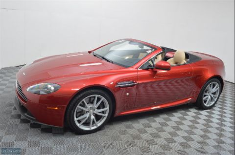 Pre-Owned 2015 Aston Martin V8 Vantage 2DR CONV RWD Convertible