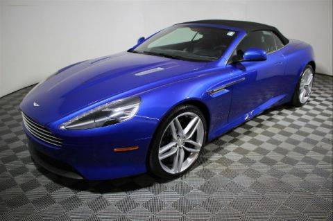 Pre-Owned 2012 Aston Martin Virage 2DR VOLANTE AUTO RWD Convertible