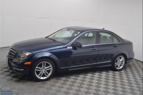 Pre-Owned 2014 Mercedes-Benz C300 4DR SDN C300 4MAT AWD