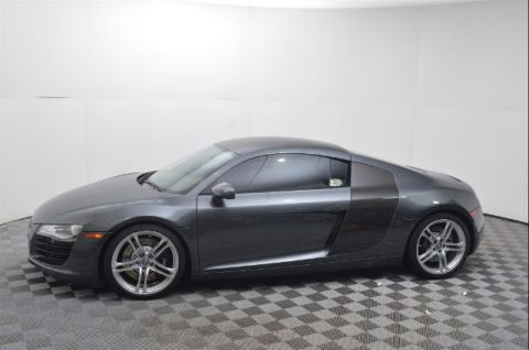 Pre-Owned 2009 Audi R8 V8 Coupe AWD